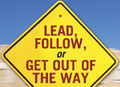 Lead or follow