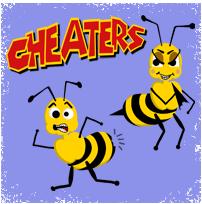 Cheatersstungshirt